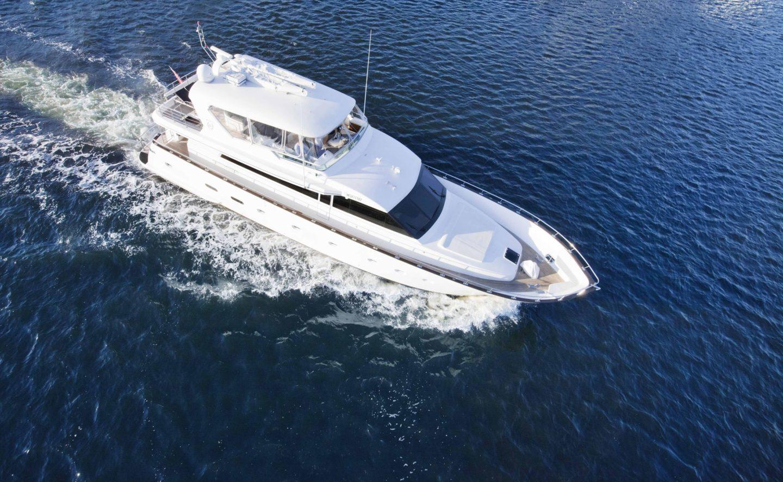 MV Pearl yacht